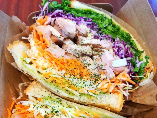 いりなか【サラダショップランチア(LANCIA)】サンドイッチ