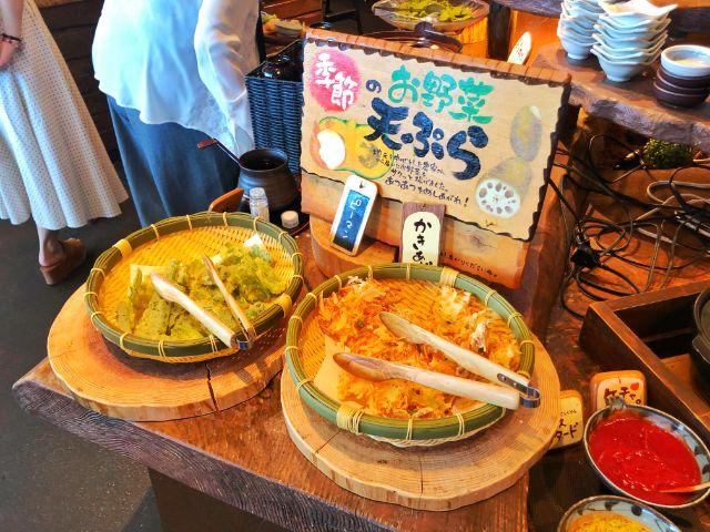 モクモクファーム【風の葡萄】ラシック ビュッフェ 天ぷら