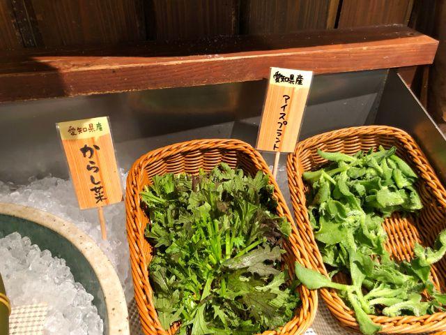 モクモクファーム【風の葡萄】ラシック ビュッフェ 珍しい野菜