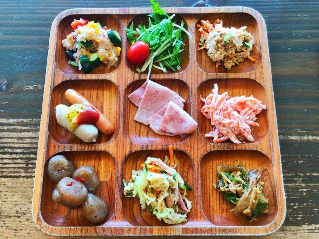 モクモクファーム【風の葡萄】ラシック ビュッフェ 前菜2