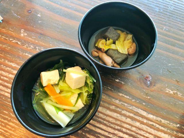 モクモクファーム【風の葡萄】ラシック ビュッフェ 汁物