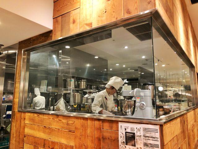 【無印カフェ】カフェ&ミールムジ(MUJI)名駅 調理場