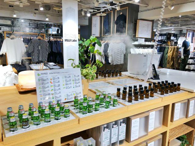 【無印カフェ】カフェ&ミールムジ(MUJI)名駅 売り場 アロマ