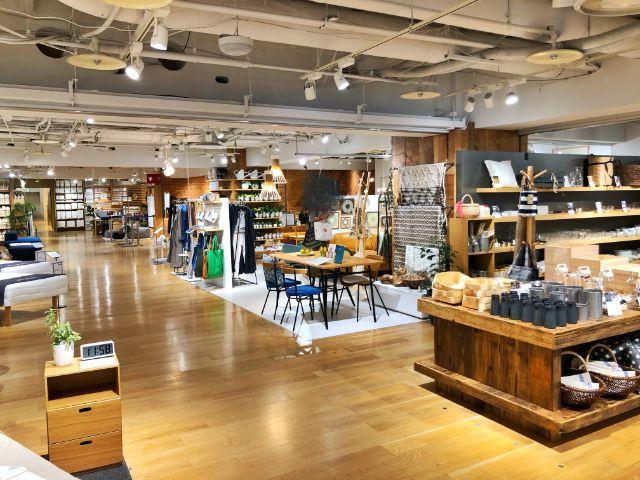 【無印カフェ】カフェ&ミールムジ(MUJI)名駅 売り場4