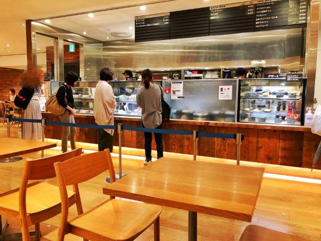 【無印カフェ】カフェ&ミールムジ(MUJI)名駅 セルフ1