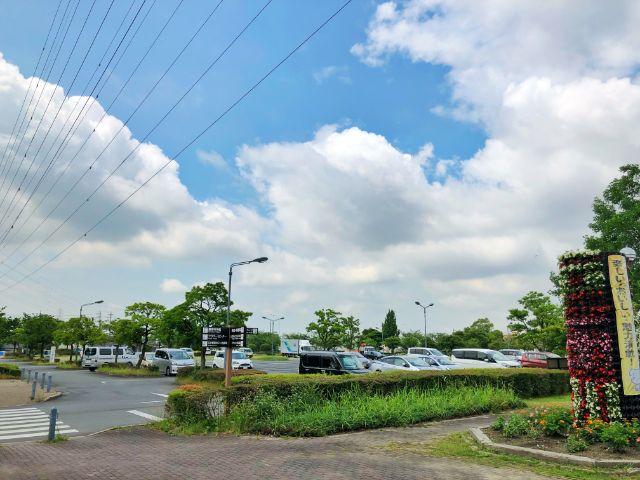 【とだがわこどもランド(戸田川緑地)】第1駐車場2