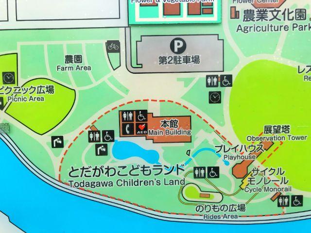 【とだがわこどもランド(戸田川緑地)】バーベキュー場ピクニック広場3