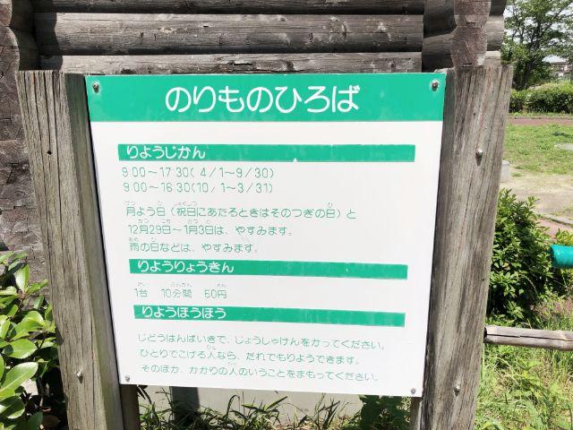 【とだがわこどもランド(戸田川緑地)】足踏みゴーカート3
