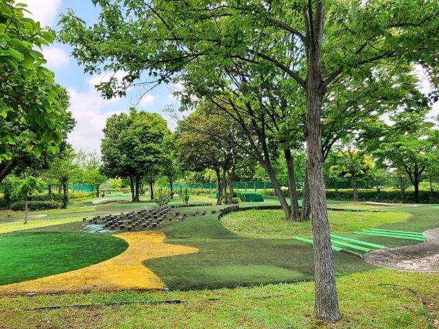 【とだがわこどもランド(戸田川緑地)】パターゴルフ3