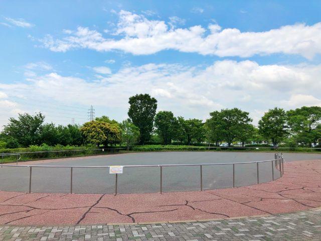 【とだがわこどもランド(戸田川緑地)】インラインスケート2