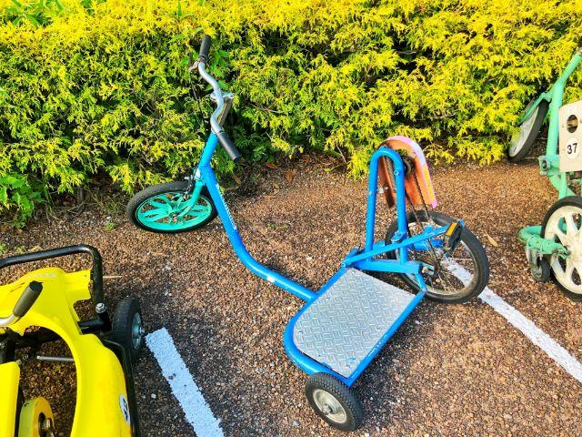 【戸田川緑地】おもしろ自転車3