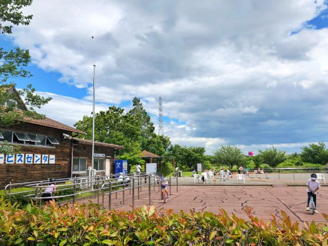 【戸田川緑地】一輪車広場練習風景3