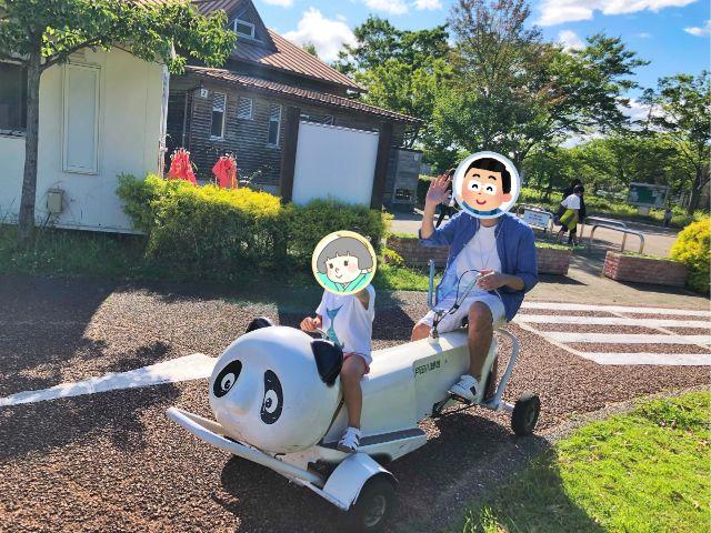 【戸田川緑地】おもしろ自転車9