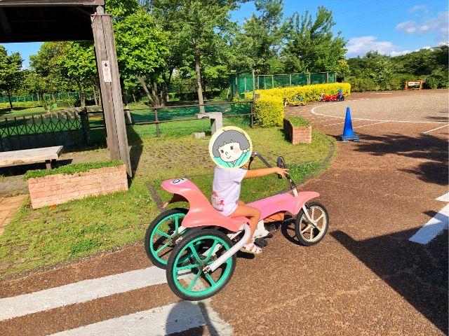 【戸田川緑地】おもしろ自転車12