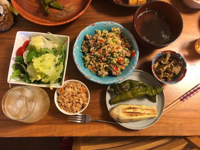 【Plez(プレズ)ダイエット指導】ある日の夕食